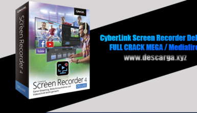 CyberLink Screen Recorder Deluxe Full descarga Crack download, free, gratis, serial, keygen, licencia, patch, activado, activate, free, mega, mediafire
