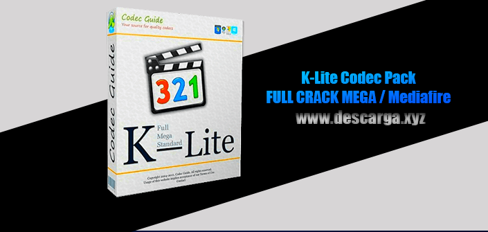 K-Lite Codec Pack Full descarga Crack download, free, gratis, serial, keygen, licencia, patch, activado, activate, free, mega, mediafire