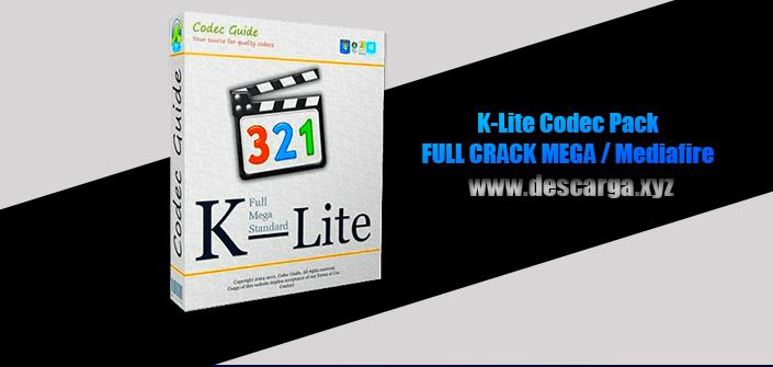 K-Lite Codec Pack Full descarga Crack download, free, gratis, serial, keygen, licencia, patch, activado, activate, free, mega, mediafire