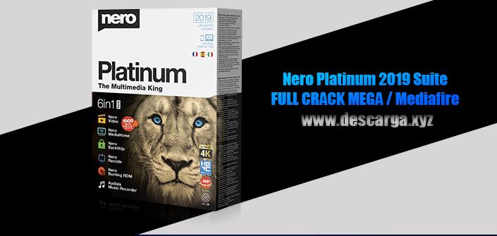 Nero Platinum 2019 Suite Full descarga Crack download, free, gratis, serial, keygen, licencia, patch, activado, activate, free, mega, mediafire