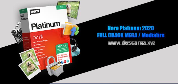 Nero Platinum 2020 Full descarga Crack download, free, gratis, serial, keygen, licencia, patch, activado, activate, free, mega, mediafire